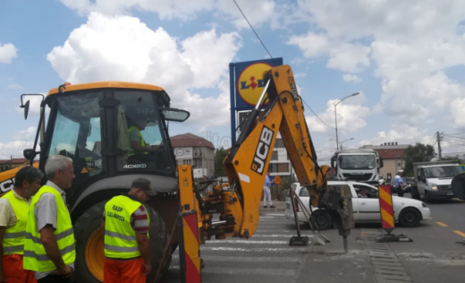 Lucrările de modernizare a străzii Bună Ziua se apropie de final