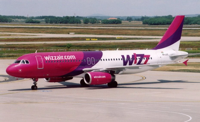 Wizz Air a suspendat toate cursele spre Spania