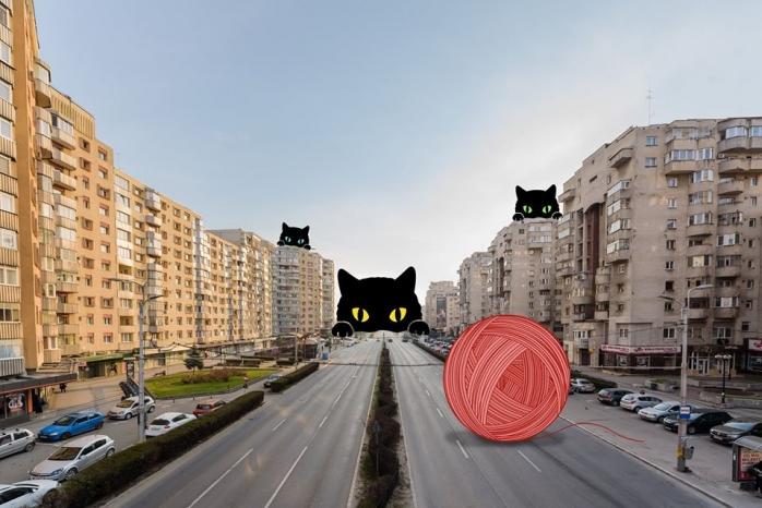 """FABULOS! Clujenii au imaginație: """"Nu avem străzile goale, ci pline de responsabilitate!"""""""