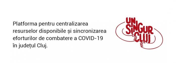 #ÎMPREUNĂ unsingurcluj.ro: Clujul strânge rândurile în lupta împotriva coronavirus!