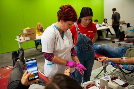 FOTO: Centrul Regional de Transfuzie Sanguină Cluj