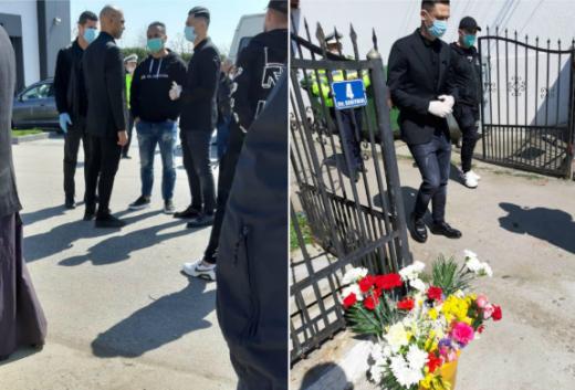 Imagini de la înmormântarea lui Martin Tudor. Sursă foto: tribunavalceana.ro