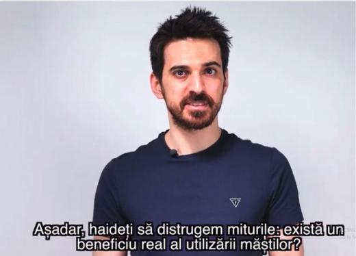 Tuncay Ozturk, adevarul despre mastile medicale in pandemia de COVID-19: