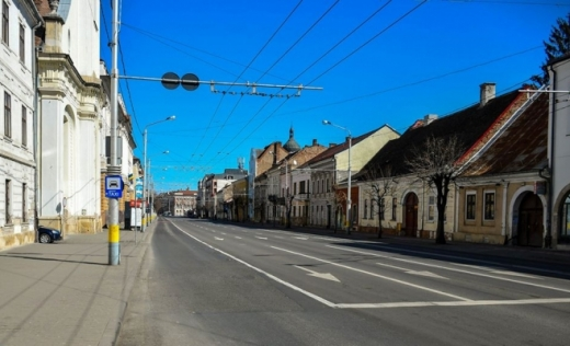 Foto: Paul Gheorgheci/monitorulcj.ro  Străzi goale Cluj-Napoca