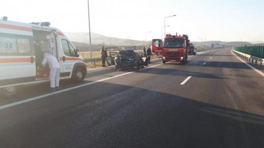 ACCIDENT GRAV pe Autostrada A10, între Aiud și Turda