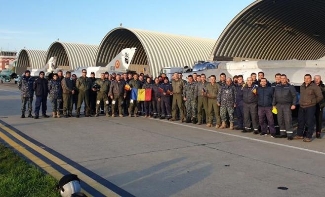 Pentagonul pompează peste 130 milioane de dolari în baza aeriană de la Câmpia Turzii, sursă foto: Facebook Baza Aeriană Câmpia Turzii