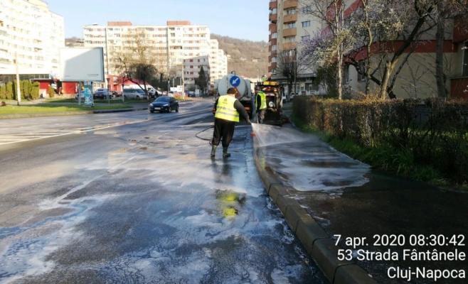 Zeci de străzi din Cluj-Napoca vor fi spălate cu detergent. Vezi lista, sursă foto: Facebook: Gheorghe Șurubaru