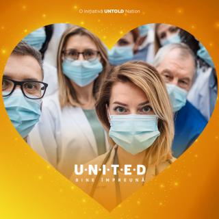 Untold se implică în lupta cu COVID-19. UNITED, inițiativa care unește binele din România!