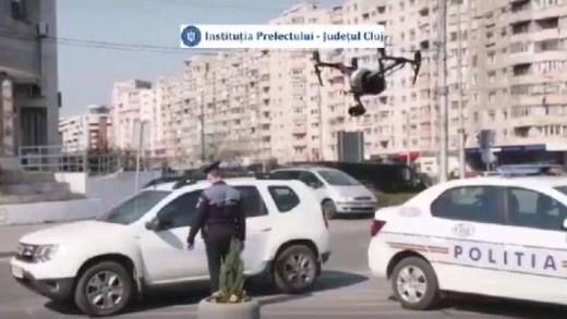 Clujeni, respectați izolarea! Orașul va fi supravegheat de DRONE