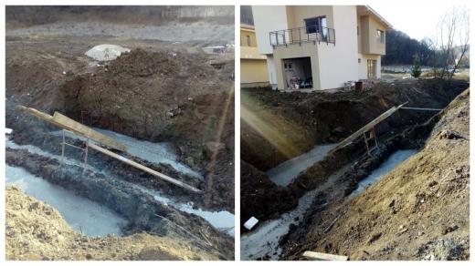 O lucrare ilegală pe râu l-a costat scump pe un localnic din Florești