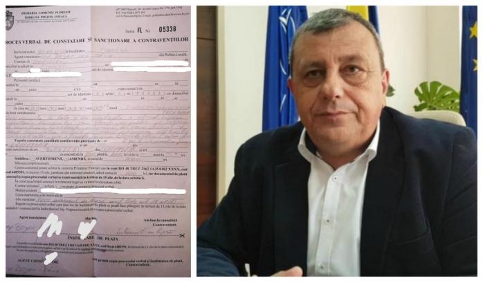 INCREDIBIL! Amendată de Poliția Locală Florești, pentru că s-a plâns de lipsa de comunicare a primăriei