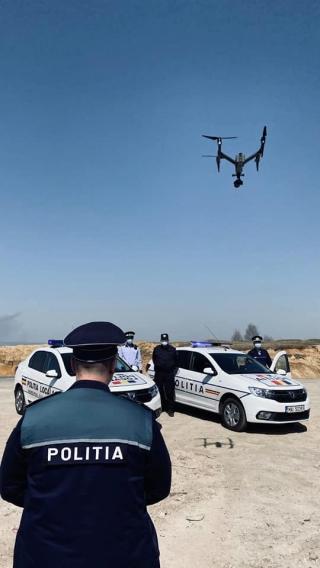 Zonele de grătare din Cluj, supravegheate cu drona