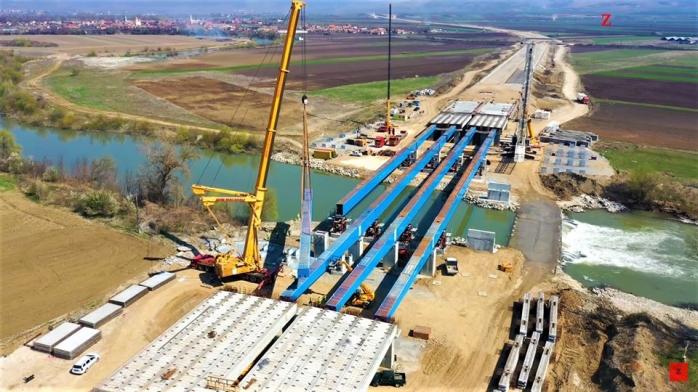 Același ritm jalnic. Noiembrie 2020, termen nerealist pentru finalizarea Autostrăzii Sebeș-Turda, sursă foto: Ziarul Unirea