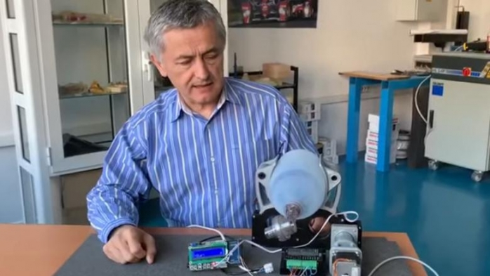 Un ventilator mecanic pentru secțiile de terapie intensivă a fost realizat la Cluj-Napoca