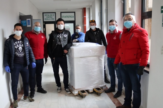 Beard Brothers a donat Spitalului de Boli Infecțioase Cluj un aparat de testare COVID-19 de ultimă generație