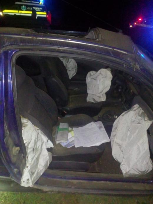 ACCIDENT TERIBIL în judeţul Cluj! Un bărbat de 30 de ani, în stare gravă