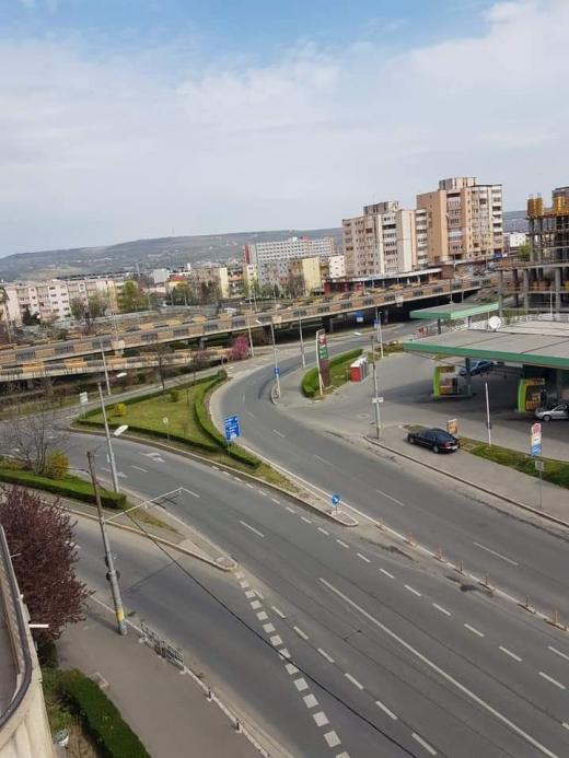 Clujeni stau acasă de Paști! Străzile din oraș sunt părăsite