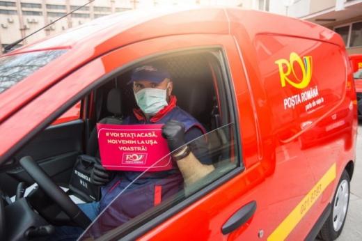 Poștăriță din Cluj, infectată cu coronavirus. A livrat pensii și alocații la sute de gospodării!, sursă foto: Poșta Română