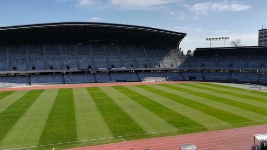 """După """"gazon ca pe San Siro"""", Consiliul Județean (re)încălzește terenul de pe Cluj Arena, sursă foto: Facebook Cluj Arena"""
