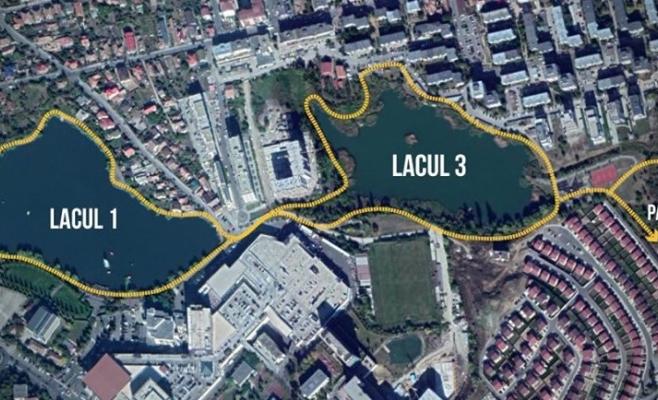 """Amenajăm lacul Gheorgheni, dar """"fără heirupisme"""". Va fi cel mai frumos proiect din jurul unui lac!, sursă foto: Facebook Adrian Dohotaru"""