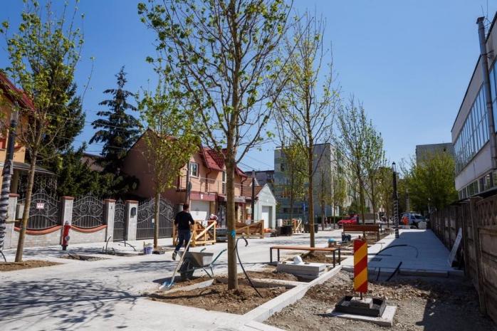 Lucrările la prima strada smart din România se apropie de final