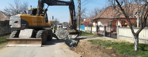 O nouă încercare pe un drum județean din Cluj. De data asta poate se fac lucrări de calitate!, sursă foto: CJ Cluj