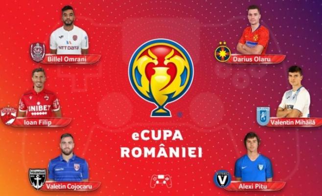 CFR Cluj impresionează și în Cupa României la FIFA 20! Cestor şi Omrani au dus echipa în sferturi