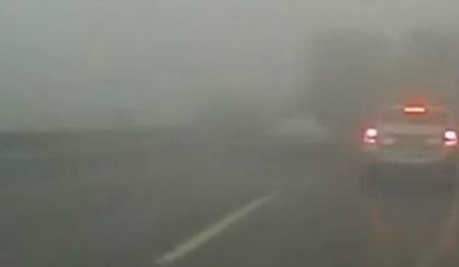 ATENȚIE, șoferi! COD GALBEN de ceață la Cluj!