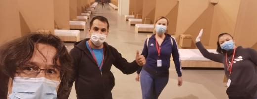 """Voluntarii """"Vă ajutăm din Cluj"""" au sprijinit sute de persoane şi instituţii în timpul pandemiei"""