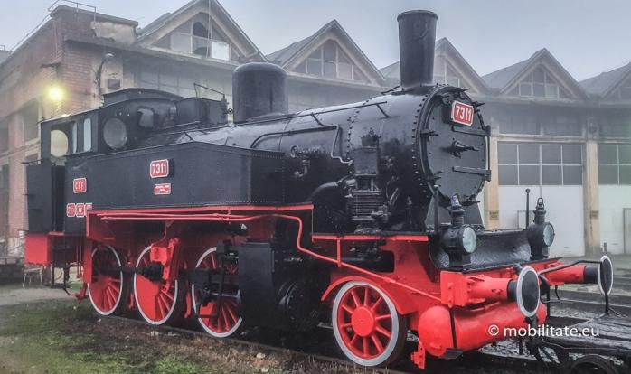 Locomotivă de epocă, recondiționată și expusă la un muzeu din județul Cluj. Cu ce viteză circula pe vremuri?, sursă foto: mobilitate.eu