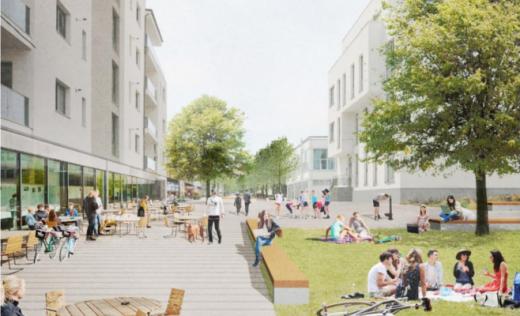 Lucrările la prima stradă smart, pe ultima sută de metri. Va fi inaugurată luna aceasta