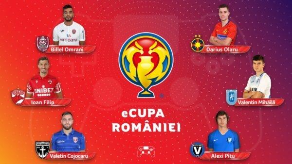CFR Cluj, eliminată în semifinalele eCupa României la FIFA 20