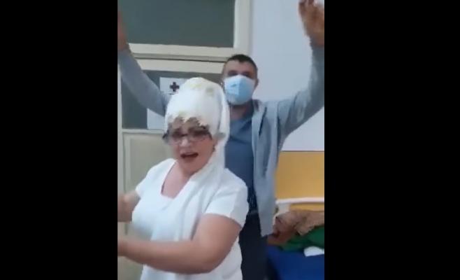Medicii infectați cu coronavirus au dat petrecere într-un spital. Poliția a spart cheful
