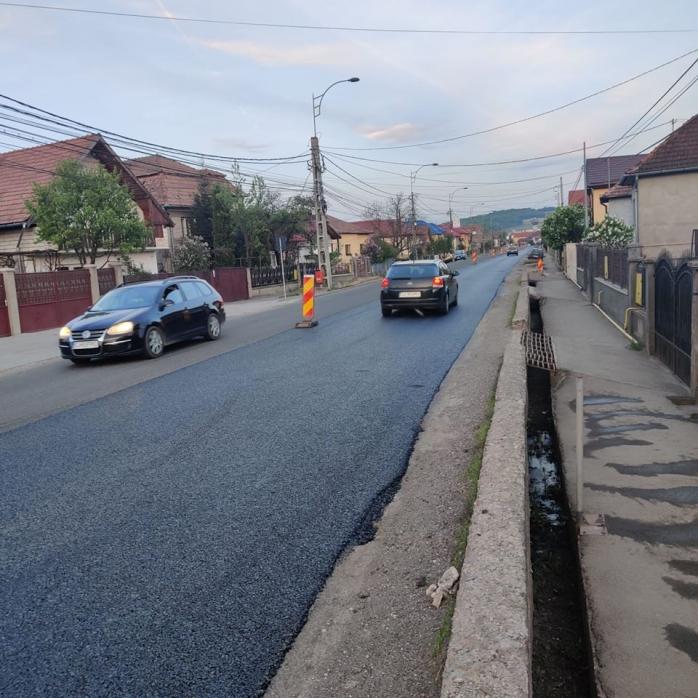 Începe asfaltarea între Cluj și Baciu. Rute de OCOLIRE