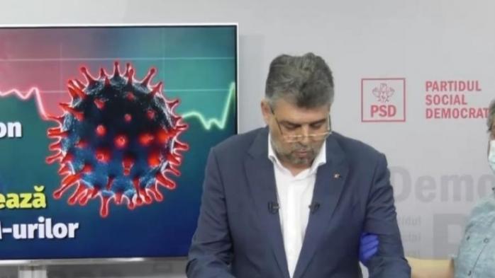 Marcel Ciolacu, la un pas de leşin în direct! Lideul PSD, salvat de o asistentă
