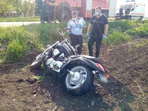 Accident cu motocicletă, la Cluj. Două persoane au ajuns la spital cu răni multiple