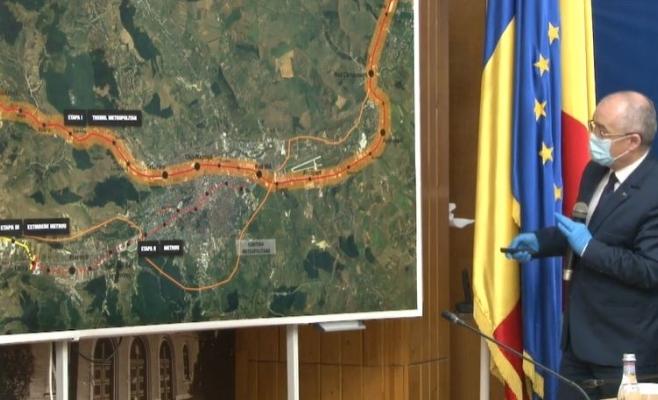 """Când vor putea clujenii să circule cu metroul? Emil Boc: """"Peste 10 ani sigur vom avea metrou în Cluj!"""""""