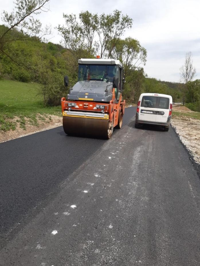 Drumul județean care leagă Clujul de județul Sălaj a fost asfaltat