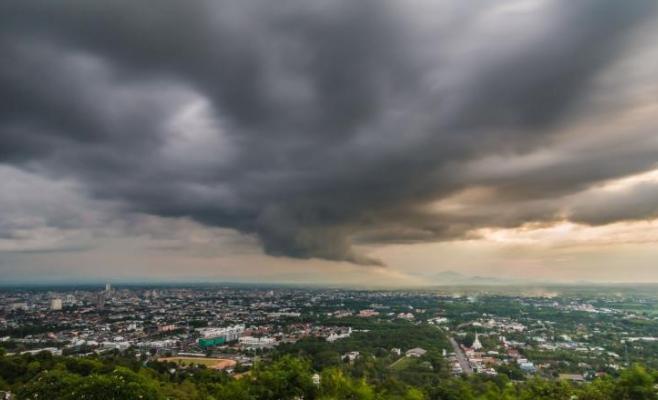 Cod galben de vreme rea în Cluj-Napoca