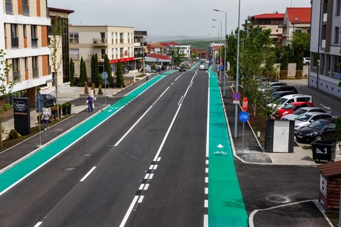 Strada Bună Ziua a fost finalizată! Cum arăta înainte și cum arată după finalizarea lucrărilor
