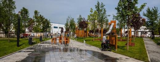 FOTO. Cum arată noul parc al clujenilor, din cartierul Între Lacuri