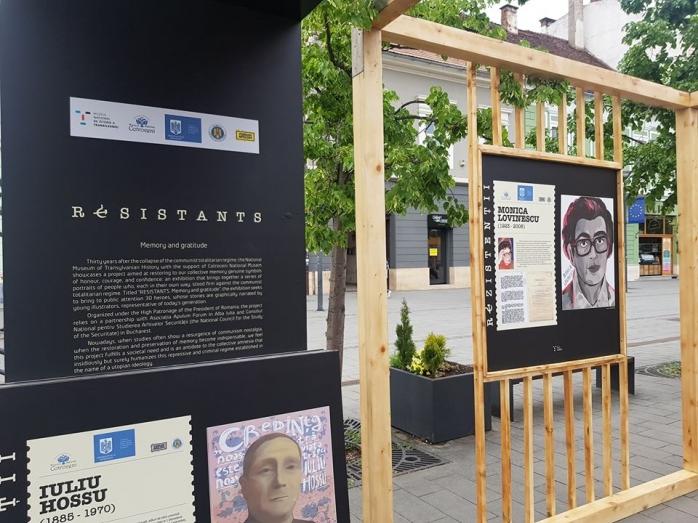 """INEDIT! Bulevardul Eroilor, """"decorat"""" cu portretele eroilor din comunism"""