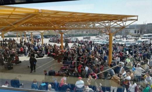 10.000 de români au plecat la muncă în Germania de pe Aeroportul din Cluj