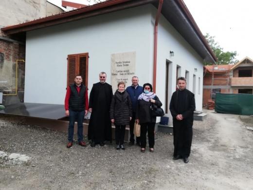 Membrii parohiei ortodoxe Sfânta Treime din Cluj-Napoca