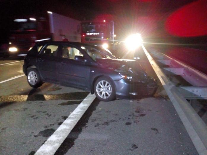 ACCIDENT pe Autostrada Transilvania, pe sensul Gilău-Turda