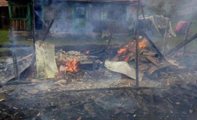 Incendiu la o gospodărie din Mărgău 06.06.2020