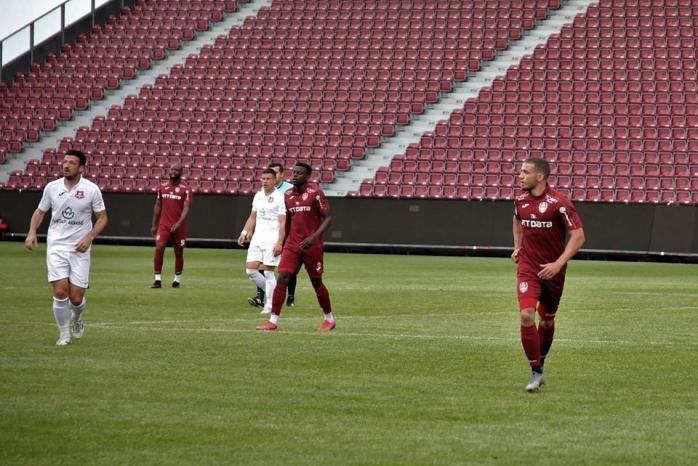 CFR Cluj a învins FC Hermannstadt în primul meci după pandemia de COVID-19