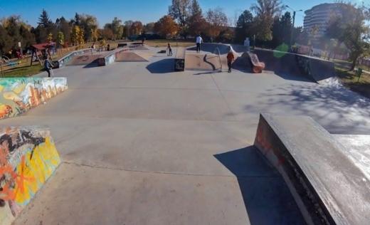 O firmă clujeană cu lucrări în Coreea de Sud sau Italia va extinde skatepark-ul din Grigorescu, cu 2,65 mil. lei