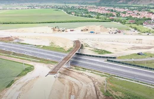 video-imagini-spectaculoase-de-pe-autostrada-sebes-turda-in-ce-stadiu-sunt-lucrarile, sursă foto/video: Facebook & YouTube Asociația Pro Infrastructură