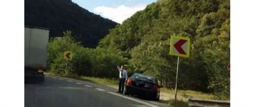 Țepari pe marginea drumului